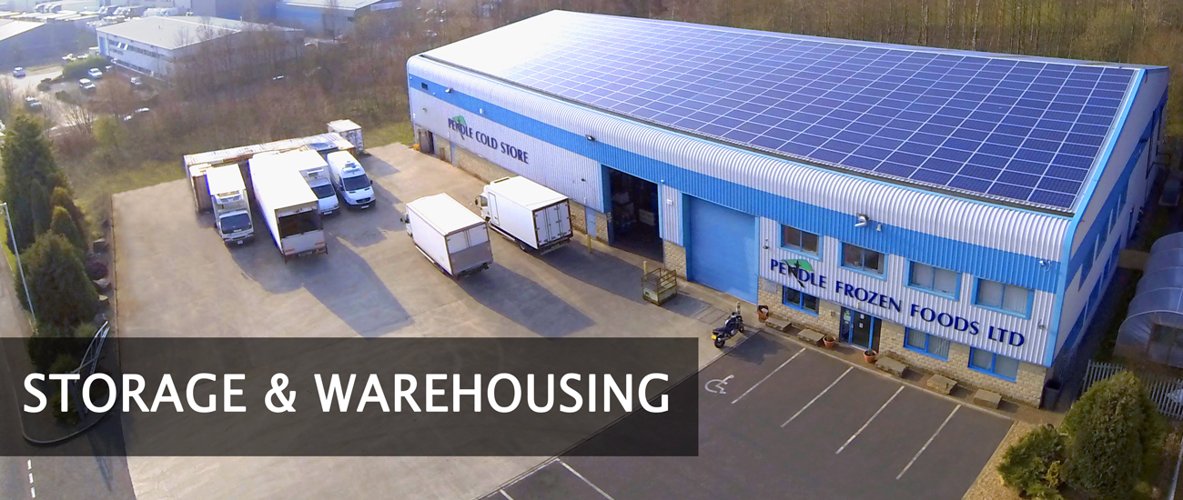 Pendle Cold Store: Storage and warehousing page title